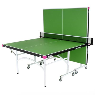 Butterfly Easifold Indoor Table Tennis Table - Green - Backplay