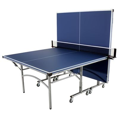 Butterfly Easifold Indoor Table Tennis Table  Blue - Playback