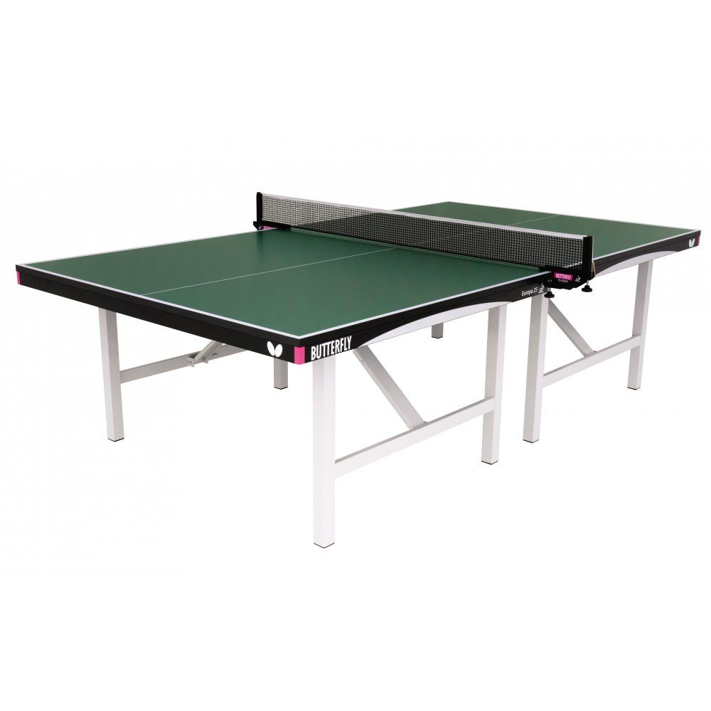 Butterfly europa 25 indoor table tennis table for Table tennis