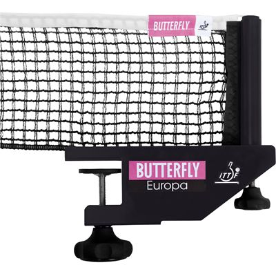 Butterfly Europa Table Tennis Net and Post Set - updated