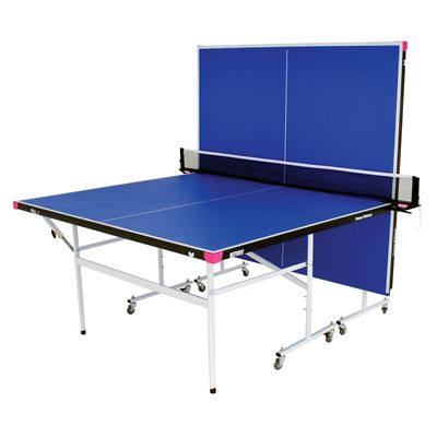 Butterfly Fitness Indoor Table Tennis Table - Blue - Playback