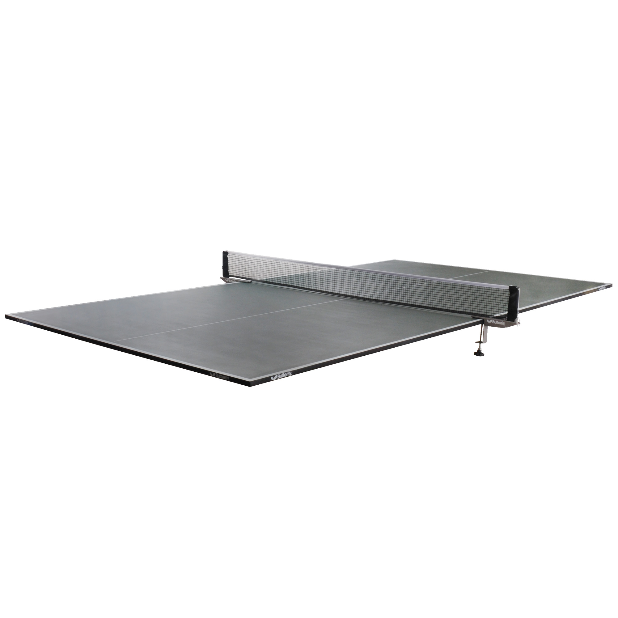 Butterfly full size green table top table tennis table - Full size table tennis table dimensions ...