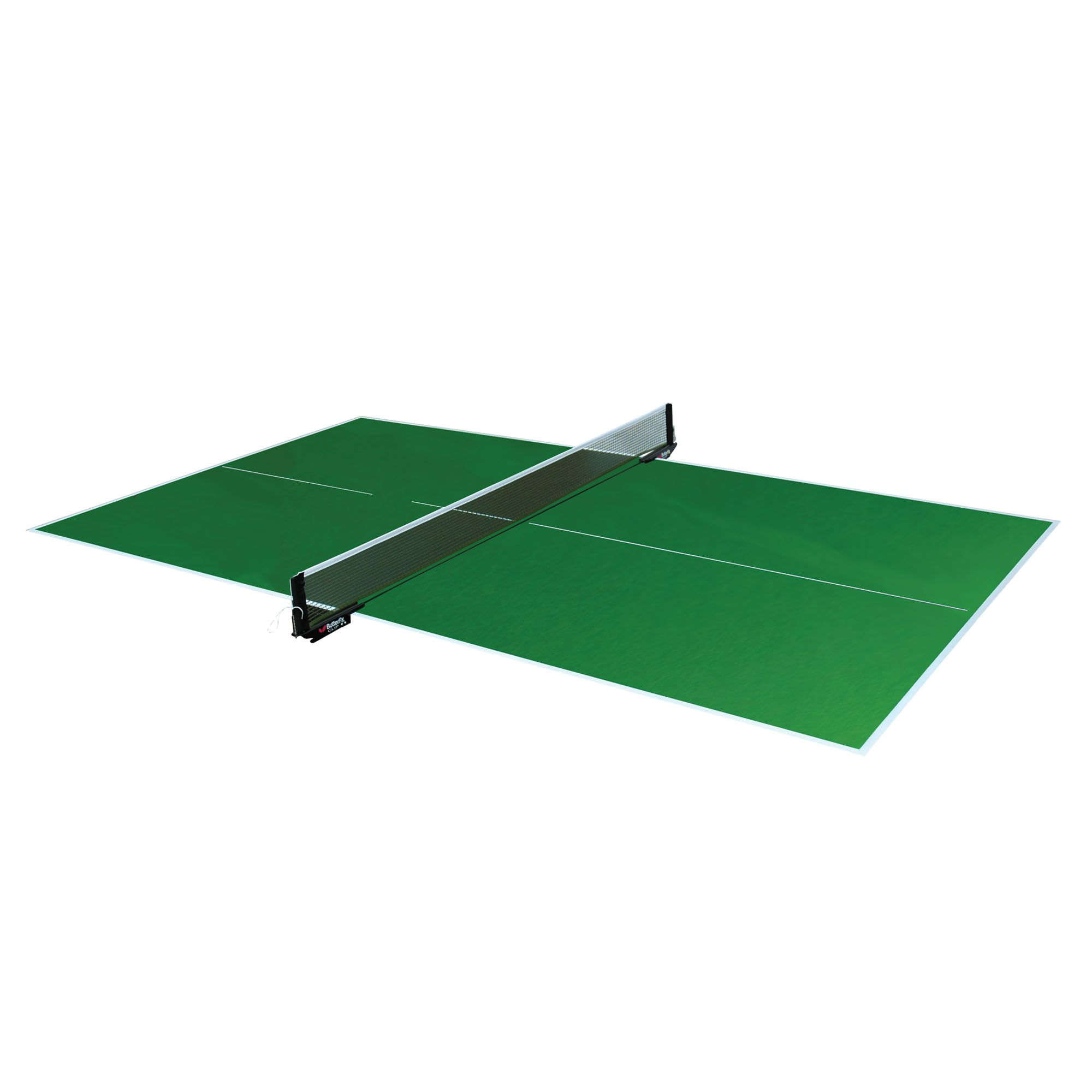 Butterfly full size green table top table tennis table - Measurements of a table tennis table ...