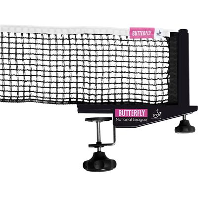 Butterfly National League Table Tennis Net and Post Set - updated
