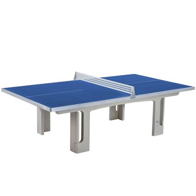 Butterfly Park Concrete 45SQ Table Tennis Table - Blue