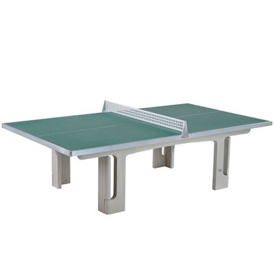 Butterfly Park Concrete 45SQ Table Tennis Table - Graphite Green