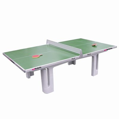 Butterfly Park Concrete 45SQ Table Tennis Table - Green