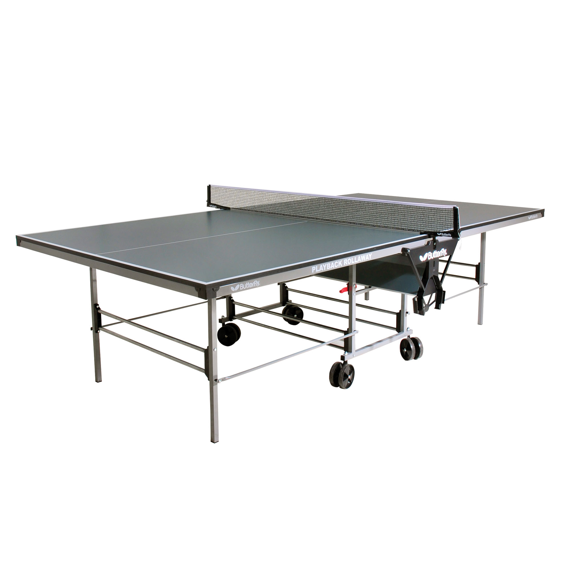 Butterfly Playback Rollaway Table Tennis Table  Green