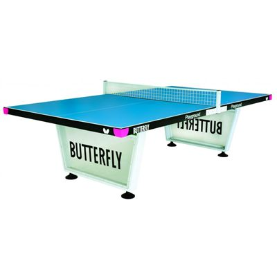Butterfly Playground Outdoor Table Tennis Table-Blue