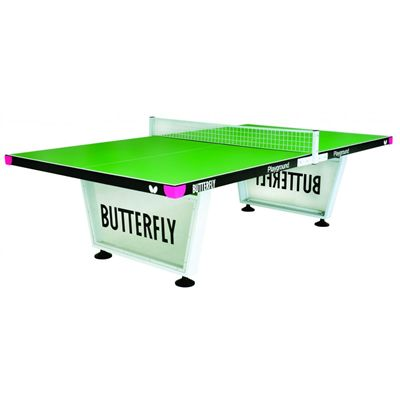 Butterfly Playground Outdoor Table Tennis Table-Green