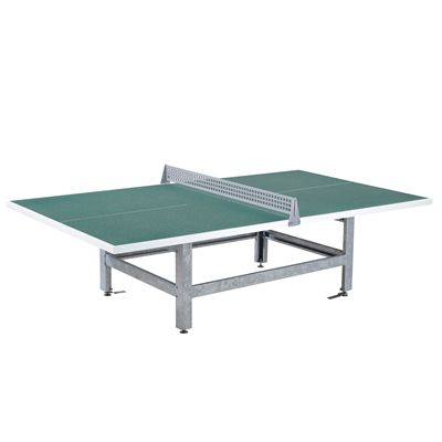 Green Tennis Table - Graphite Green
