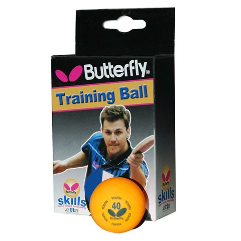 Butterfly Skills Table Tennis Balls - Box of 6