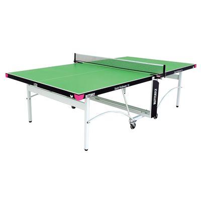 Butterfly Spirit 19 Rollaway Indoor Table Tennis Table-Green
