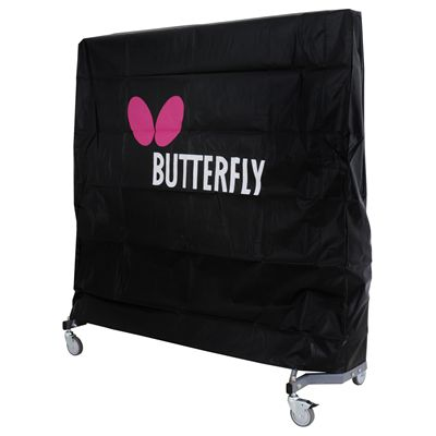 Butterfly Table Tennis Table Cover-pink