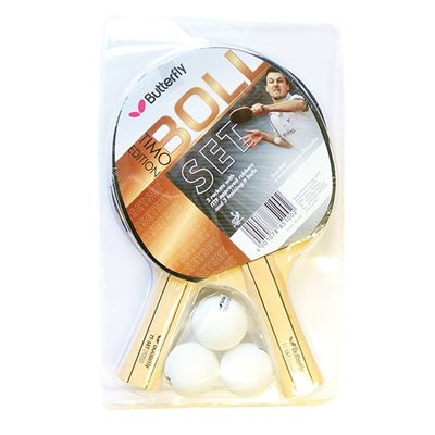 Butterfly Timo Boll 2 Player Table Tennis Set
