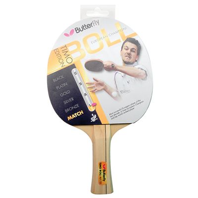 Butterfly Timo Boll Match Table Tennis Bat front view