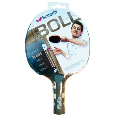 Butterfly Timo Boll Platinum Table Tennis Bat - Packaging