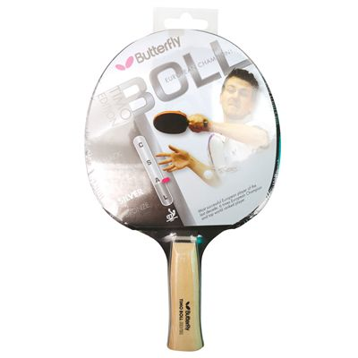 Butterfly Timo Boll Silver Table Tennis Bat Packaging