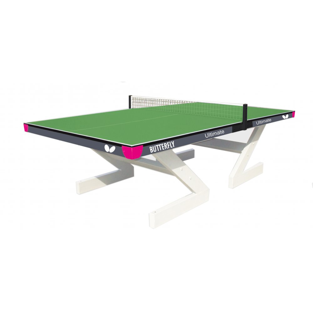 Butterfly Ultimate Outdoor Table Tennis Table  Green