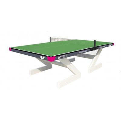 Butterfly Ultimate Outdoor Table Tennis Table-Green