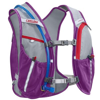 Camelbak Circuit Hydration Running Backpack - Purple - Back