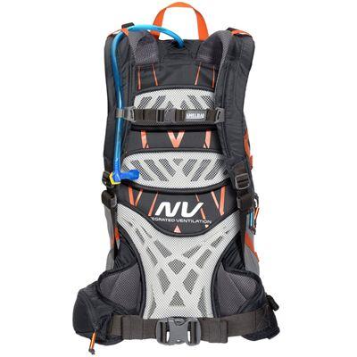 Camelbak Fourteener 24 Hydration Running Backpack-Black-Orange-24L-Back View