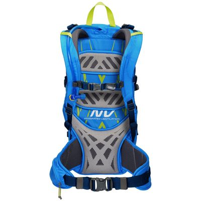 Camelbak Fourteener 24 Hydration Running Backpack-Blue-Lime-24L-Back View