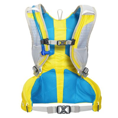 Camelbak Octane XCT Backpack - Yellow Blue - Back Image