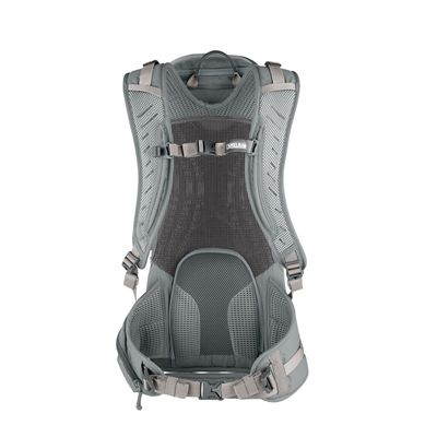 Camelbak Pursuit 24 LR Hydration Running Backpack-Grey/Lime-24L-Back View