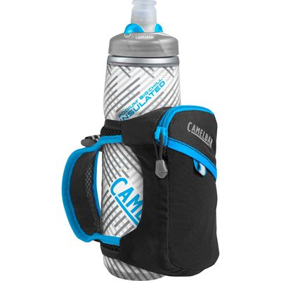 Camelbak Quick Grip Chill 620ml Running Watter Bottle - Black