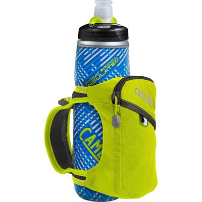 Camelbak Quick Grip Chill 620ml Running Watter Bottle - Blue - Lime