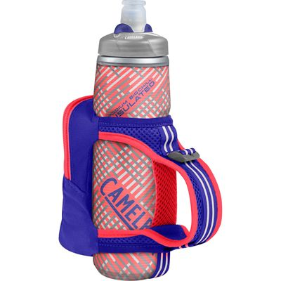 Camelbak Quick Grip Chill 620ml Running Watter Bottle - Purple - Back