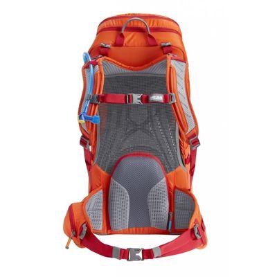 Camelbak Spire 22 LR Hydration Running Backpack-Orange-Red-22L-Back View