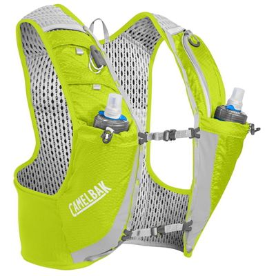 Camelbak Ultra Pro Hydration Running Vest - Lime - Back1