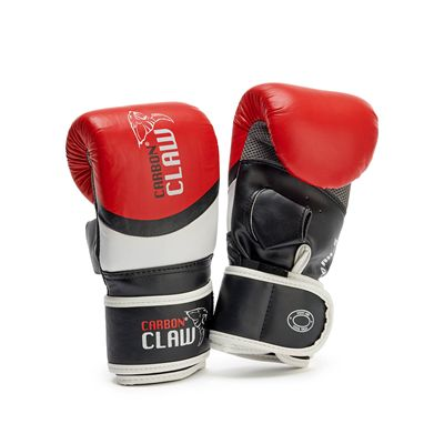 Carbon Claw Aero AX-5 Leather Bag Mitts -Red