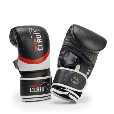 Carbon Claw Aero AX-5 Leather Bag Mitts  Black