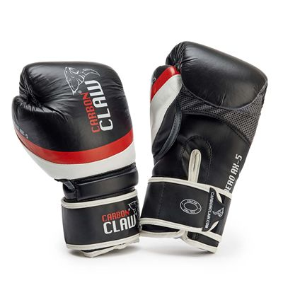 Carbon Claw Aero AX-5 Leather Sparring Gloves - New - Black