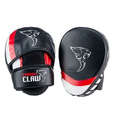 Carbon Claw Aero AX-5 Synthetic Leather Curved Hook and Jab Pads