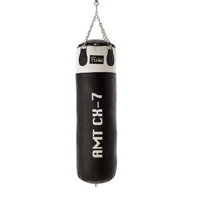 Carbon Claw AMT CX-7 4ft Leather Punch Bag - Back