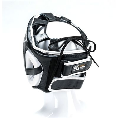 Carbon Claw AMT CX-7 Black Leather Headguard - Back