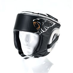 Carbon Claw AMT CX-7 Black Leather Headguard