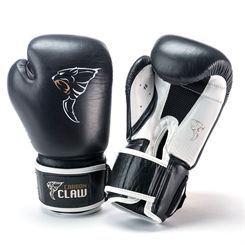 Carbon Claw AMT CX-7 Black Leather Sparring Gloves