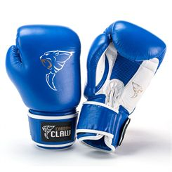Carbon Claw AMT CX-7 Blue Leather Sparring Gloves