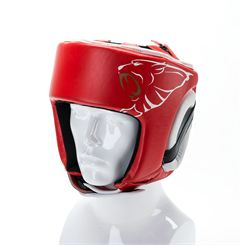 Carbon Claw AMT CX-7 Red Leather Headguard