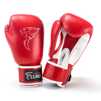 Carbon Claw AMT CX-7 Red Leather Sparing Gloves