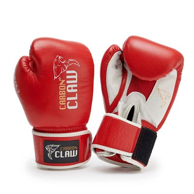 Carbon Claw AMT CX-7 Red Leather Sparring Gloves