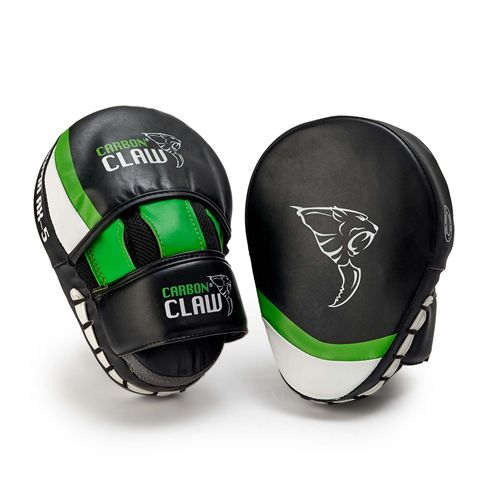 Carbon Claw Arma AX-5 Synthetic Leather Curved Hook and Jab Pads