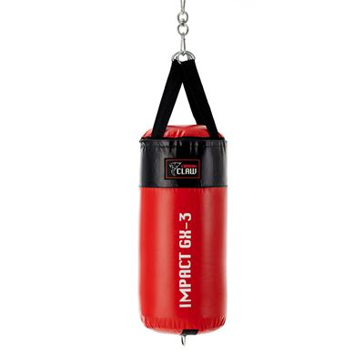 Carbon Claw Impact GX-3 2ft Synthetic Leather Punch Bag - Back
