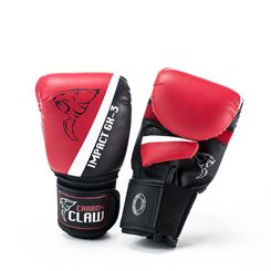 Carbon Claw Impact GX-3 Synthetic Leather Bag Mitts