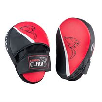Carbon Claw Impact GX-3 Synthetic Leather Curved Hook and Jab Pads